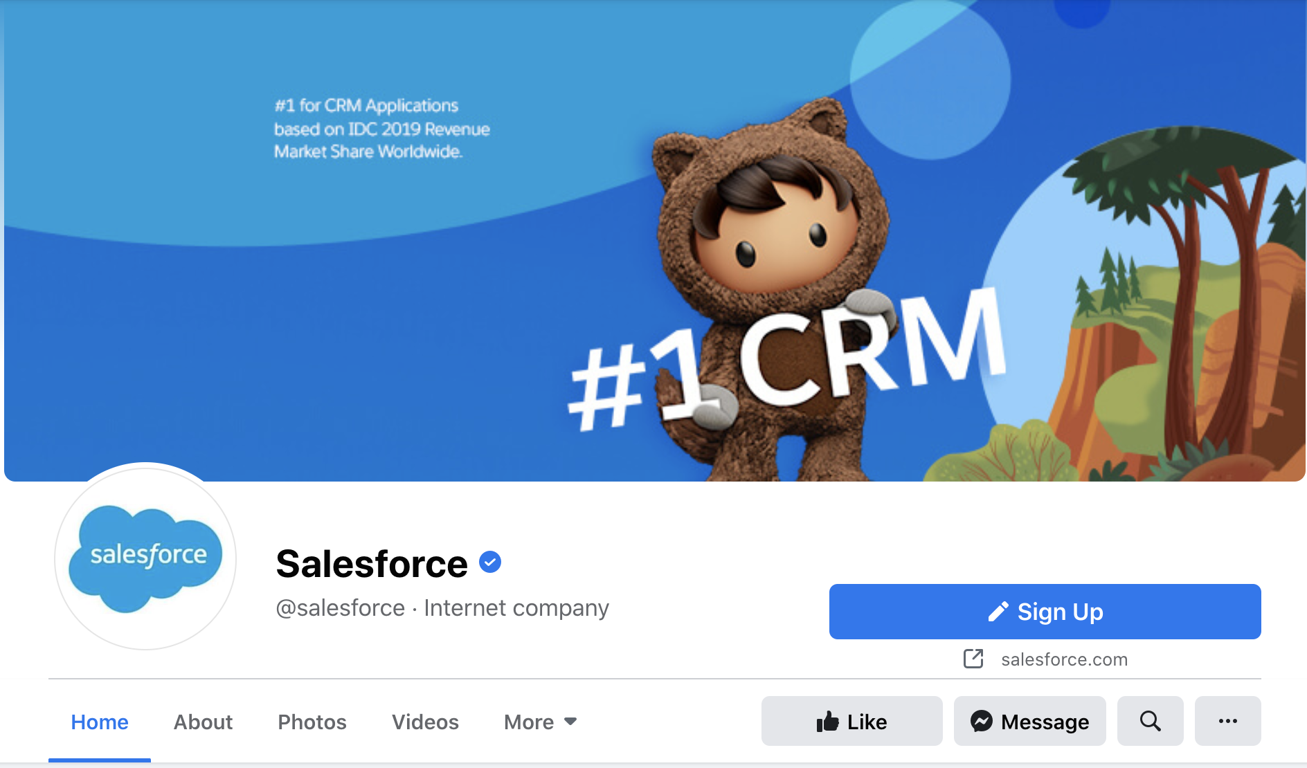 B2B social media salesforce